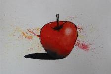 2017_03_10_Brusho_and_Pen_Apple_mini