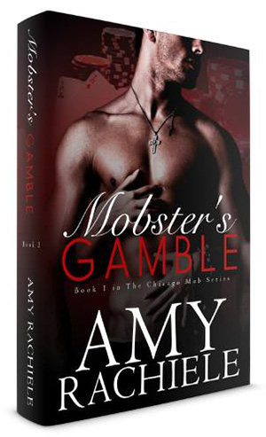 Mobster's Gamble book cover Amy Rachiele