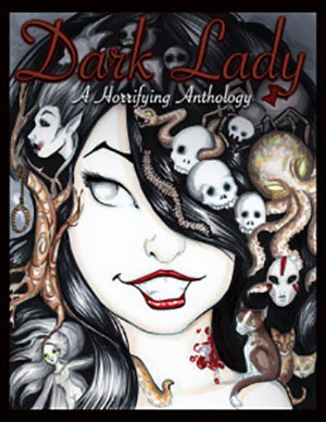 Dark Lady book cover Lindsay Moore