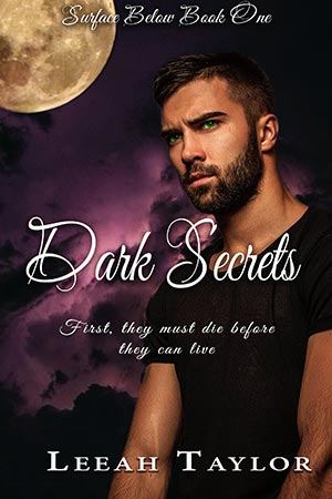 Surface Below Dark Secrets book cover Leeah Taylor