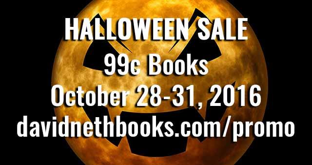 Halloween Promotions 99c books