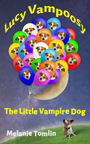Lucy Vampoosy: The Little Vampire Dog book cover